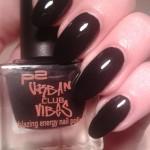 Recensione P2 Urban Club Vibes smalto 040 Techno Black… disco nails!