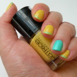 "Review Catrice Ultimate Nail Lacquer C04 ""Yellow"" – Limited Edition Geometrix"