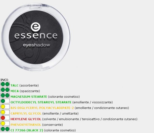 essence eyeshadow numero 59 inci