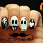[Tutorial] Mr&Mrs Ghosties: idea nail art per Halloween
