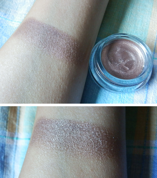 onandonbronze swatch