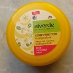 Review in Pillole: Alverde Burro Corpo Nutriente Melone