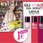 "Smalto in omaggio – Layla Gel Effect n.12 ""Smooth Purple"""