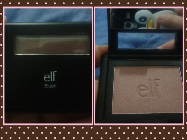 Packaging del blush Studio E.L.F.