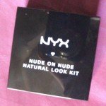 [Recensione] NYX – Nude on nude natural look KIT (S109N)