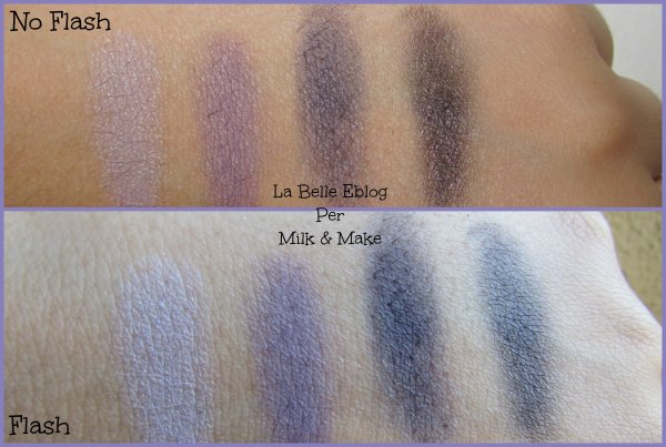 swatches catrice palette smokey