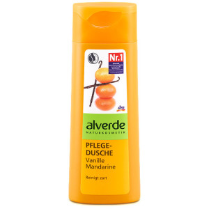 alverde bagnoschiuma mandarino vaniglia
