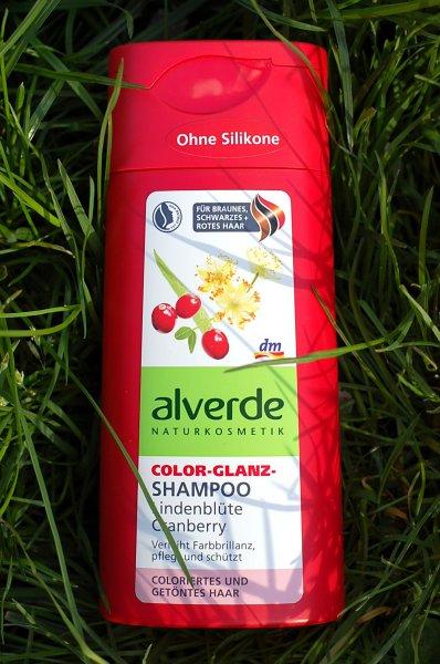 alverde shampoo cranberry