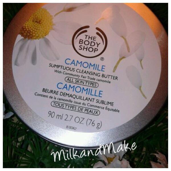 The Body Shop - Burro Detergente alla Camomilla