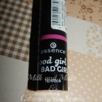 [Recensione] Lipstick 02 Caught in the middle Essence  Good Girl Bad Girl
