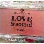 [Recensione] Essence Limited Edition Love & Sound Blush
