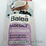 [Recensione] Balea Badesalz Cocos/ Cassis