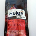 [Recensione] Balea Luxury Red Love Sali da bagno