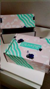 Le scatole d'imballaggio sono reversibili e riutilizzabili <3 <3