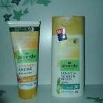 Recensione Alverde – Solari e Detergente Viso pelli impure