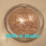 Review Essence Me & My Ice Cream Eyeshadow Cone Head