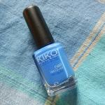Review: Nail Lacquer #385 Blu Pastello, Kiko.