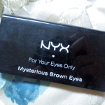 Review: Mysterious Brown Eyes palette, NYX