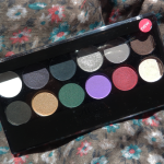 Review: Glamour Nights palette, MUA.