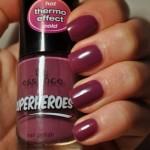 "Essence Superheroes – Thermo nail polish 01 ""Fantastic Girl"" & co."