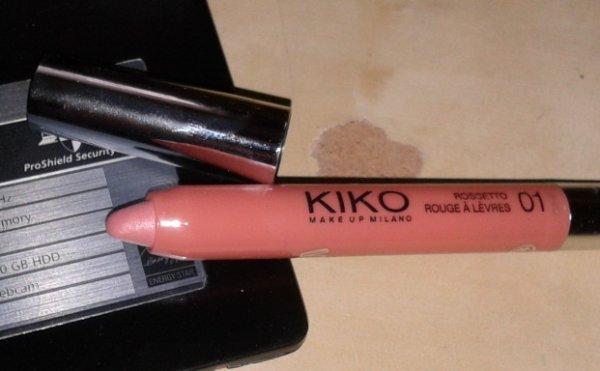 Kiko Limited Edition Boulevard Rock - Rock Idol Lipstick - 01 Jounty Cameo