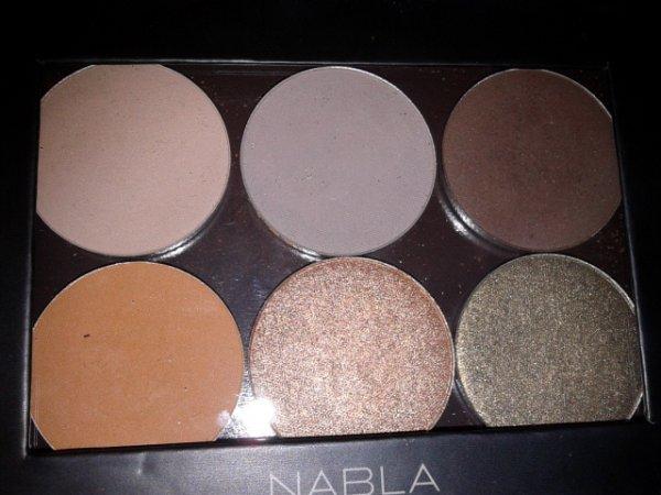 NABLA Cosmetics ombretti refill