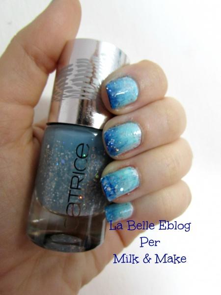catrice le gran bleu mermaiday mayday gradient nailart
