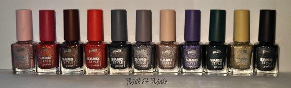 Sand Style P2 - collezione completa