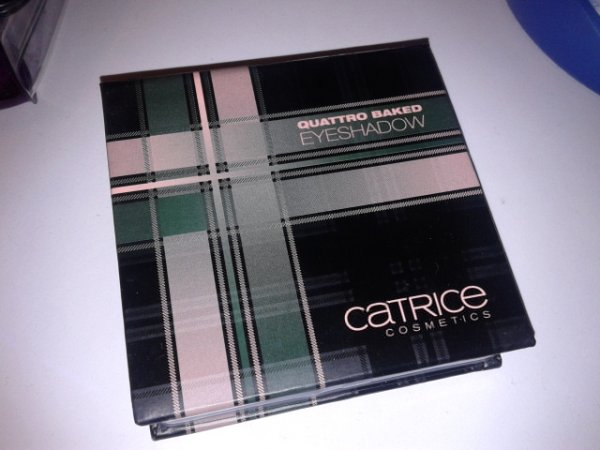 Catrice LE Check & Tweed Quattro Baked Eyeshadow - 01 London's Eye