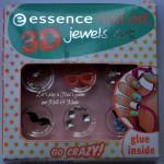 """[Recensione] Essence nail art 3D jewels set """"Go Crazy!"""""""