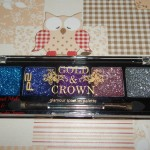 [Recensione] Gold & Crow Glamour Sparkles Palette P2 Cosmetics