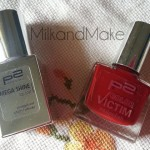 [Recensione] P2 Color Victim Nail Polish 130 Passion + Mega Shine Top Coat
