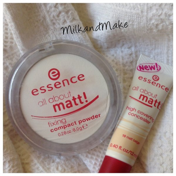 Essence All About Matt High Covering Concealer - 10 Matt Beige