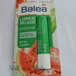 [Recensione] Lippen Pflege Lipbalm Melone Balea