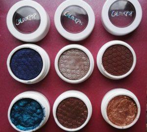Tutti i miei eyeshadows Colourpop