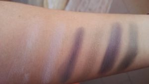 Swatches seconda fila