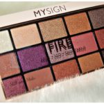 """[Review] My Sign Palette Ombretti """"Fire"""""""