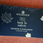 "[Recensione] Essence Highlighter e Blush Palette ""Fall Back To Nature"""
