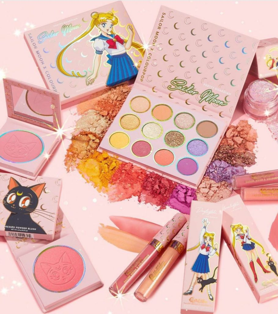 Sailor moon limited edition per Colourpop