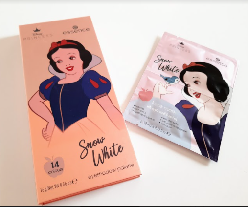 Snow white essence Disney Princess palette