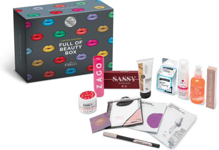 Pinalli Prime selection beauty box limited
