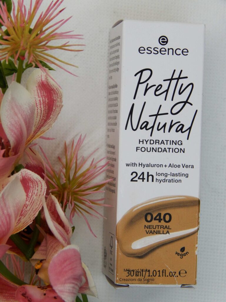 Pretty Natural Hydrating Foundation Essence Cosmetics Review