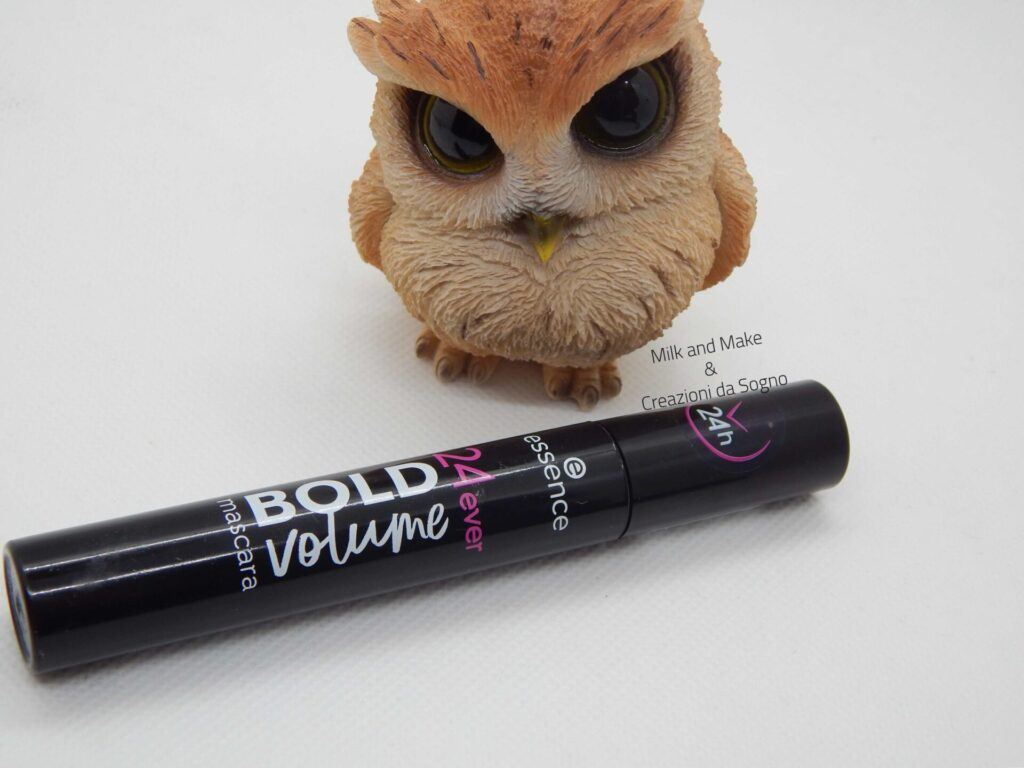 24ever BOLD volume mascara Essence Cosmetics - Review