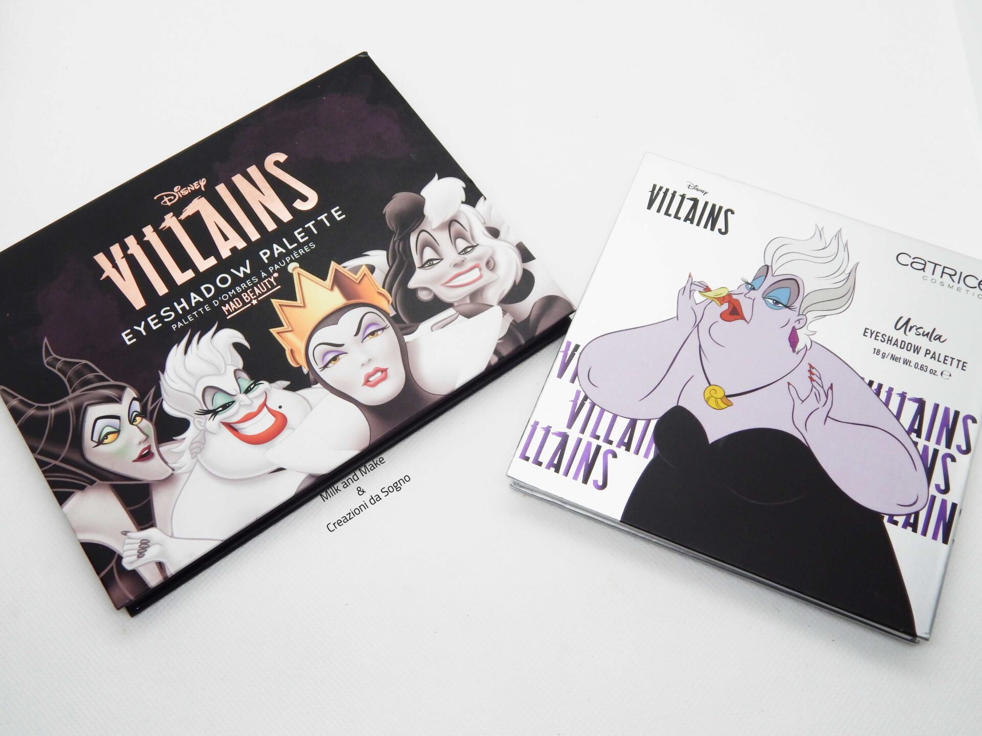 Eyeshadow Palette Villains x Catrice - Ursula Review
