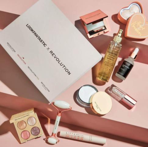 Lookfantastic x Revolution beauty box limited